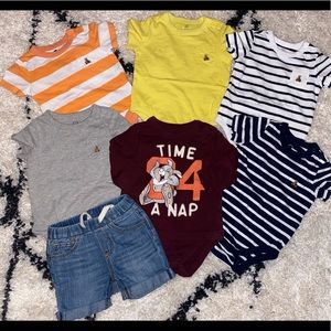 Gap Baby Boy Lot of 7 6-12M Pre-Owned